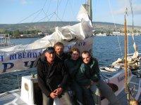 Обучение управлению яхтой в Крыму
